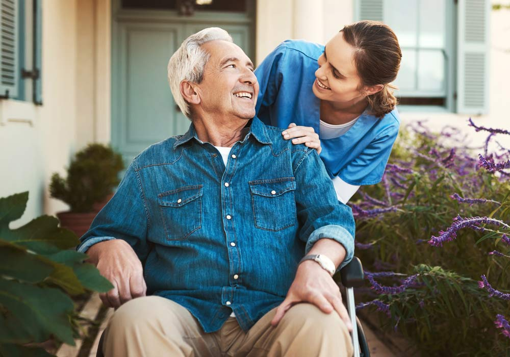 Assisted Living and Memory Care Patient and Caregiver - The Pinnacle of Oxford