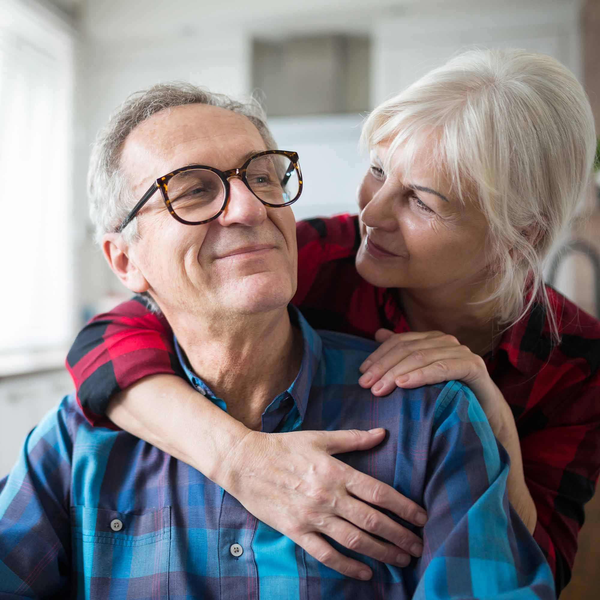 Assisted Living and Memory Care Couple - The Pinnacle of Oxford