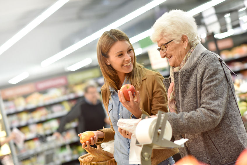 How to make shopping easier for caregivers